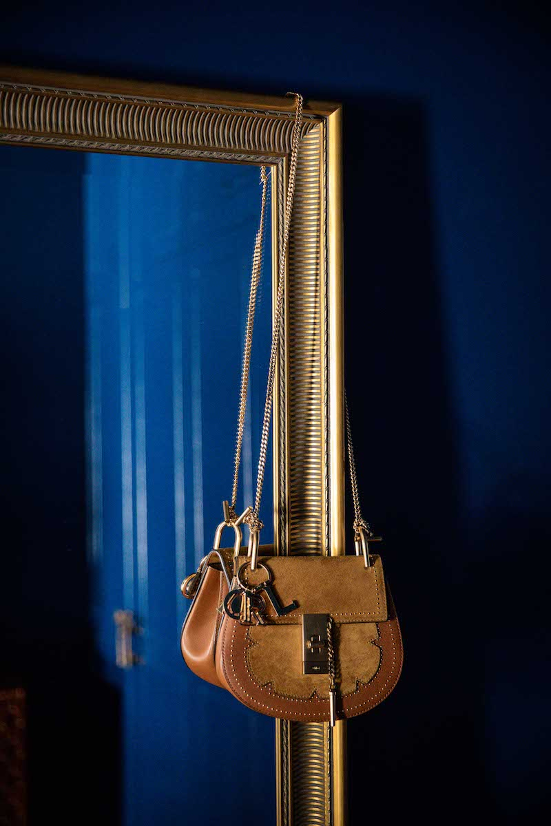 Goldener Barockspiegel