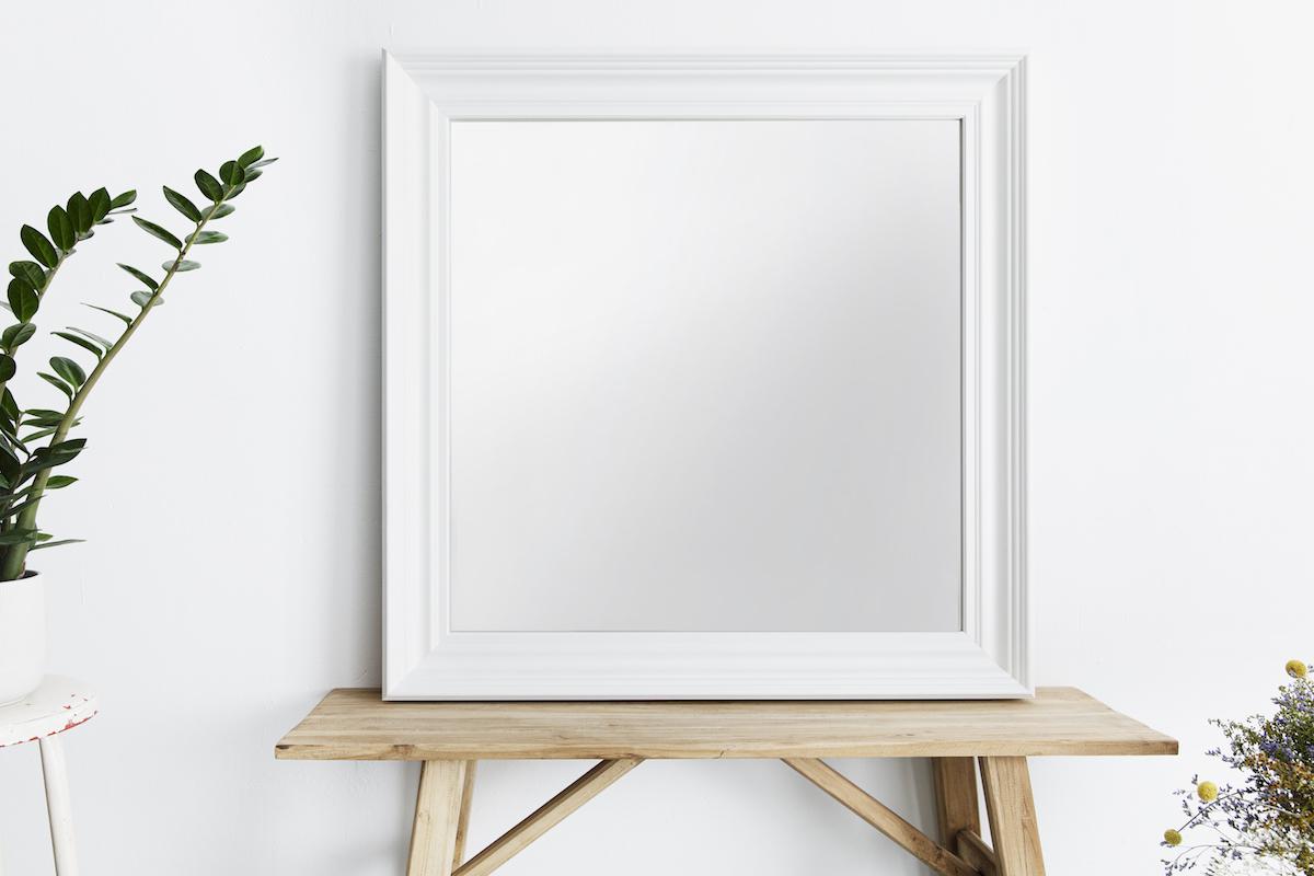 Klassischer weißer Rahmen