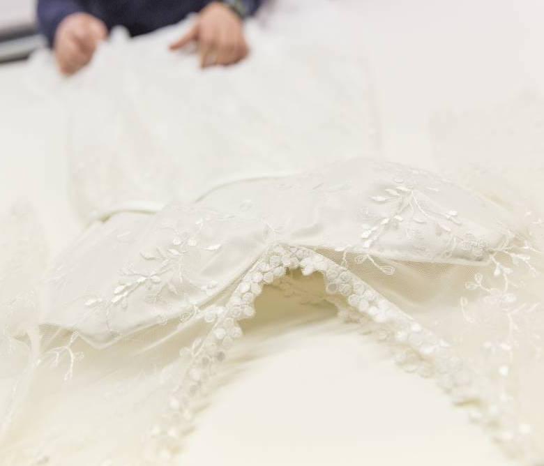 Hochzeitskleid einrahmen - Verno - framed, with love