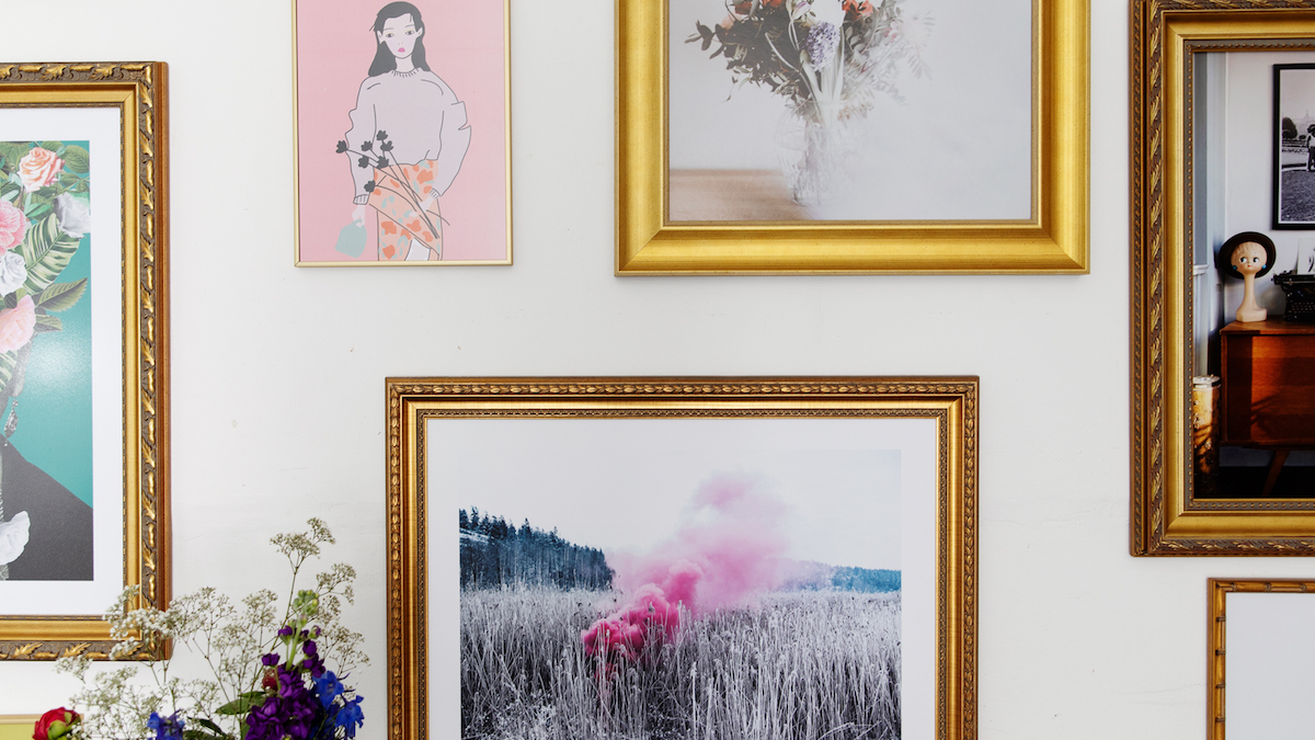 Wie man eine Galeriewand erstellt