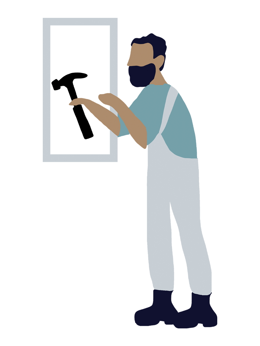 Wir fertigen Ihren einzigartigen Rahmen an