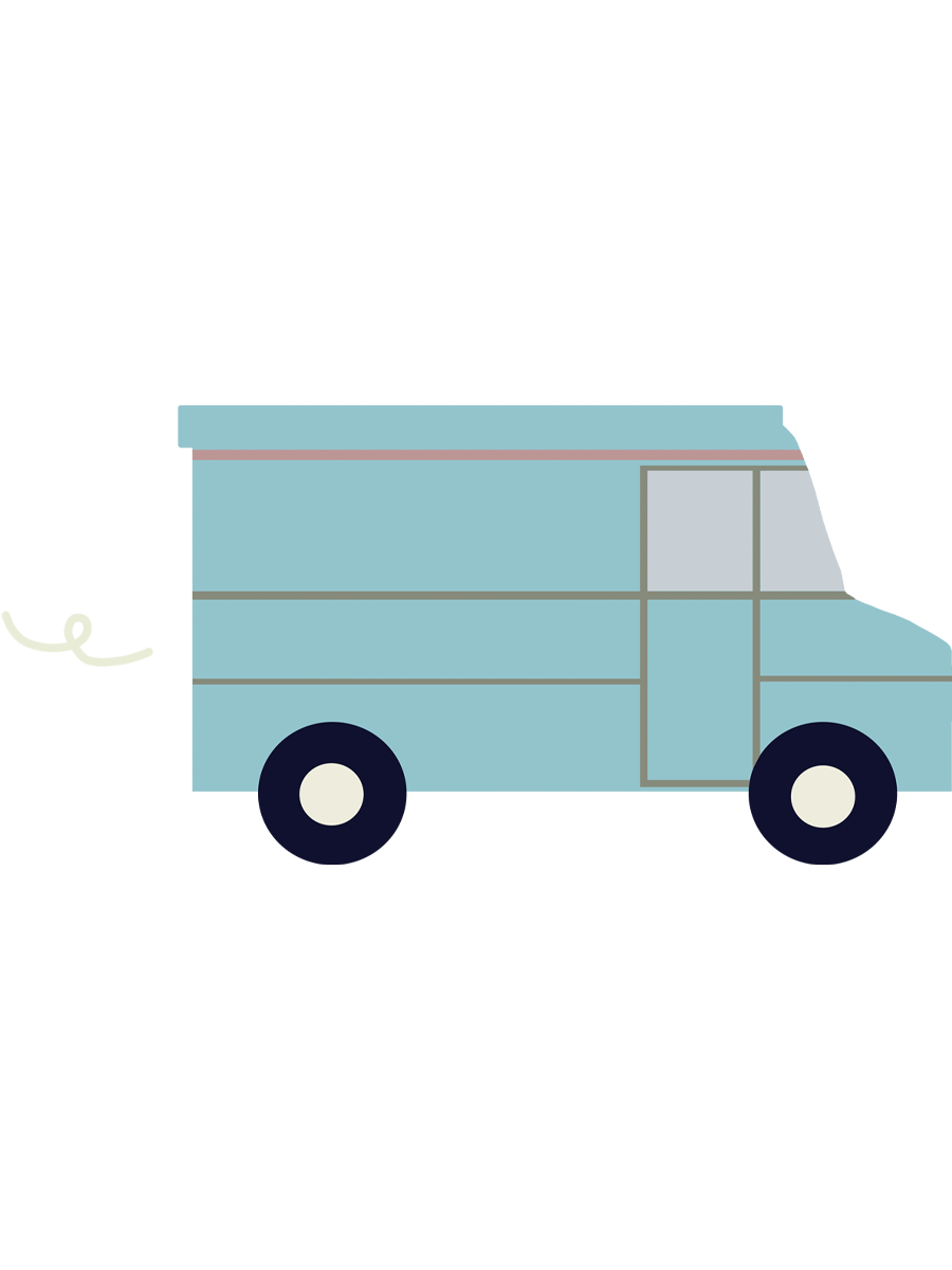 We deliver your order to your home
